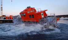 AP 17 M self-rightening Pilot Boat