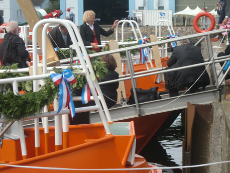 Christening of the boats
