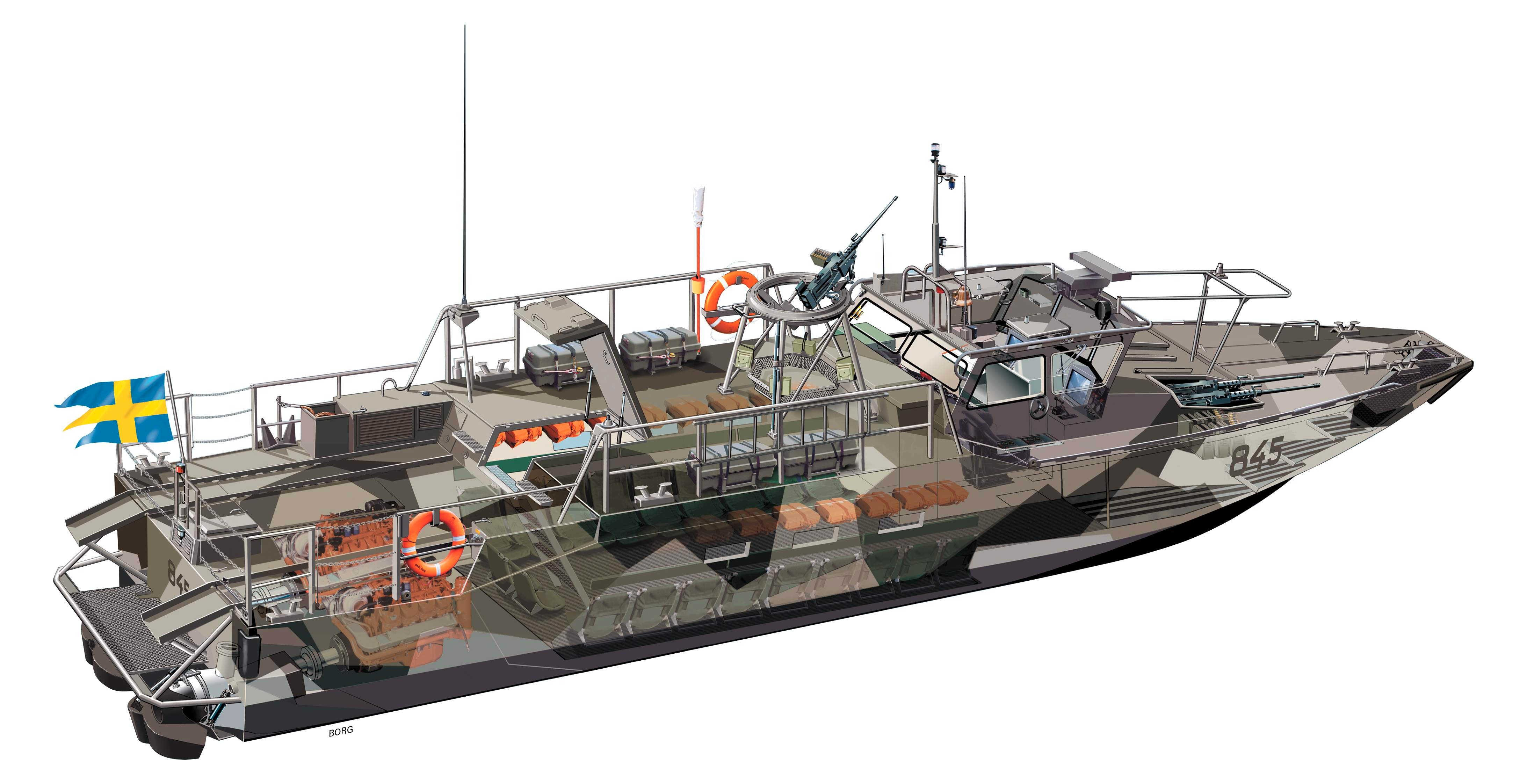 Combat Boat 90 H Dockstavarvet